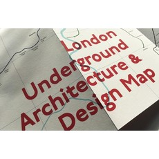 London Underground Architecture & Design Map