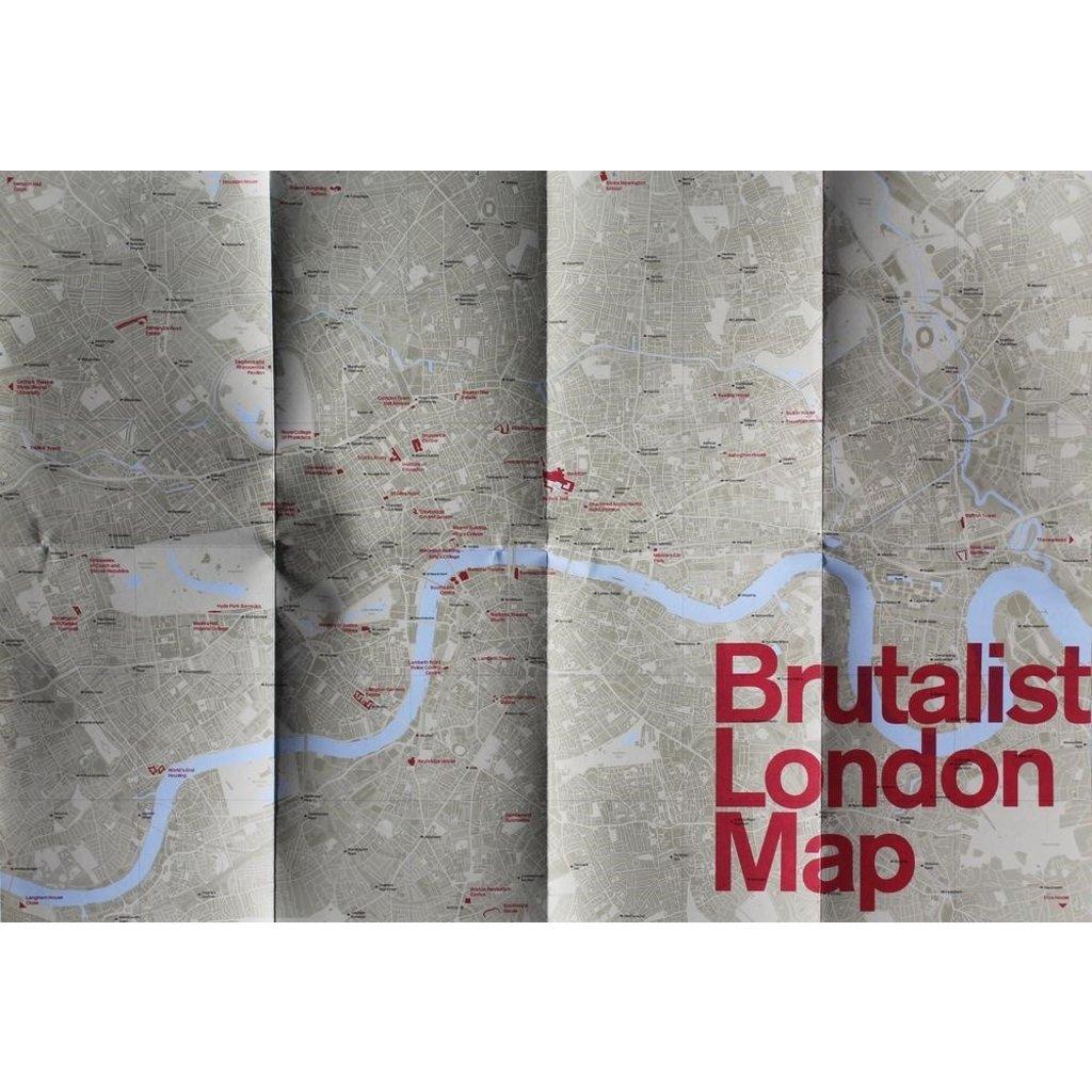 Brutalist London Map