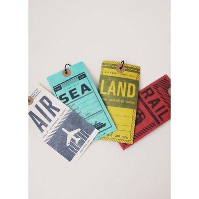 Luggage Tags: Air, Rail, Land, Sea