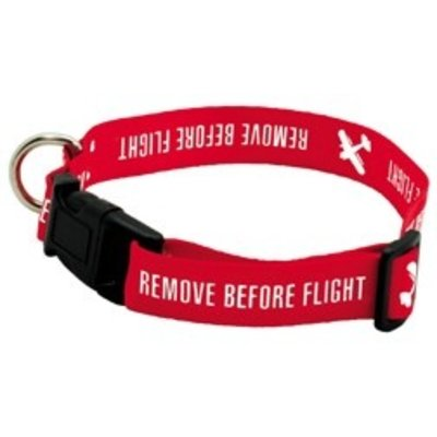 Remove Before Flight Dog Collar
