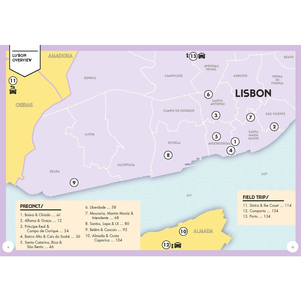 Lisbon Pocket Precincts