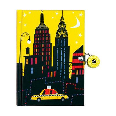New York City! Locked Diary