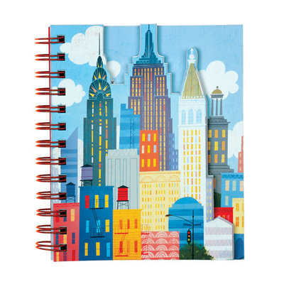 NYC Skyline! Layered Journal