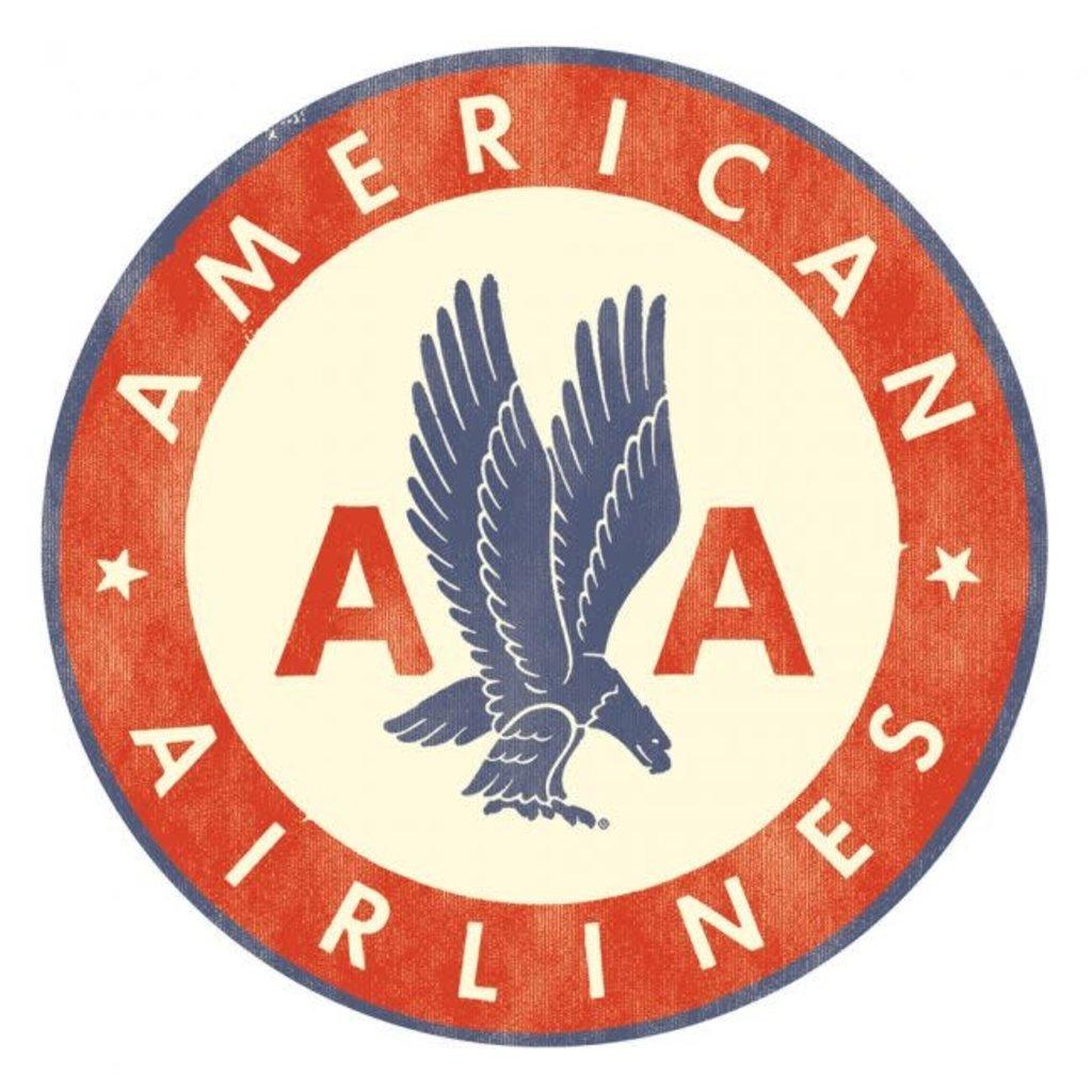 American Airlines Logo Sticker