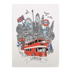 London Handmade Silkscreened Journal