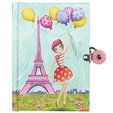 J'Adore Paris! Locked Diary
