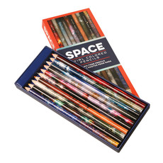 Space Swirl Colored Pencils