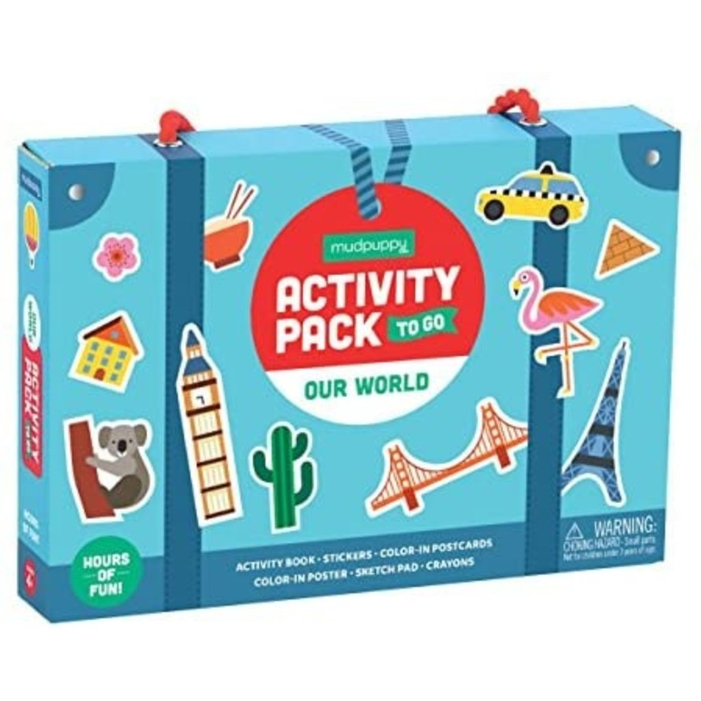 Activity Pack to Go Our World