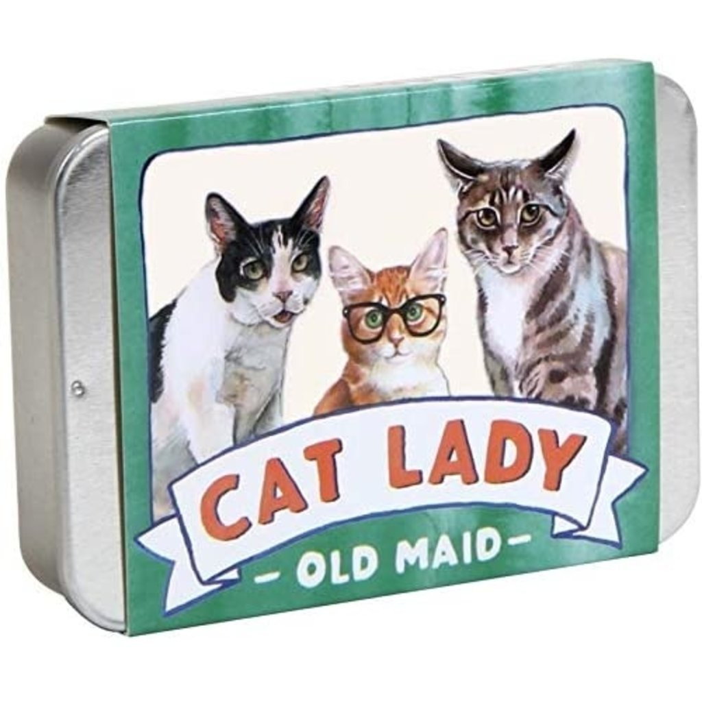 Cat Lady Old Maid Travel Game