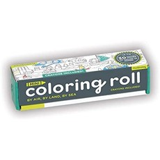 By Air, By Land, By Sea Mini Coloring Roll
