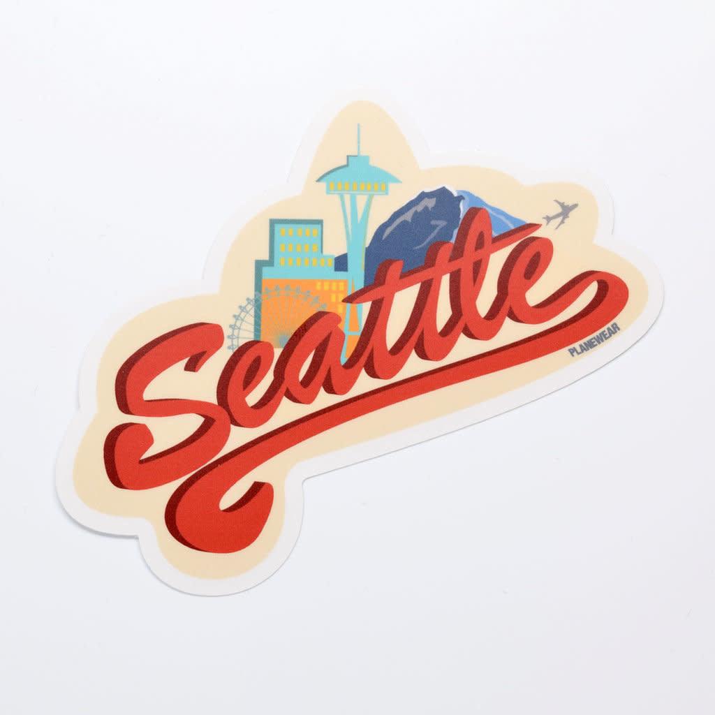 Seattle Die-Cut Sticker