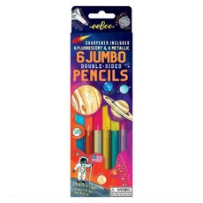 Solar System with 6 double-sided Jumbo pencils