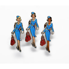 """Jumpseat Jenny""  Signature Pin"