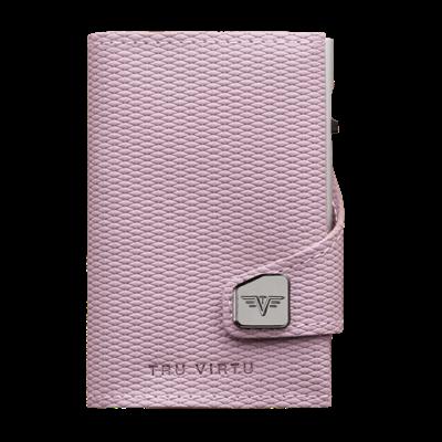 Tru Virtu Click n Slide Leather Rhombus Rosé