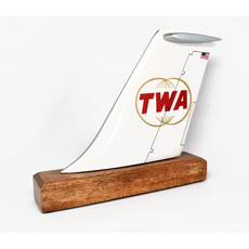 TWA Logo Tail (Double Globe)