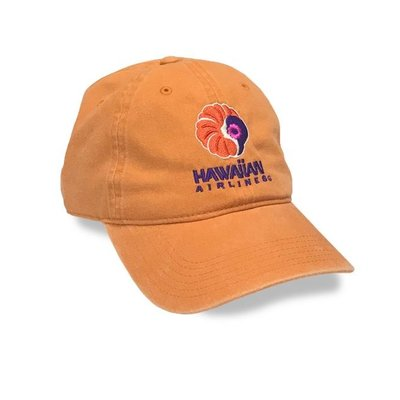 Hawaiian Airlines Logo Adjustable Cap