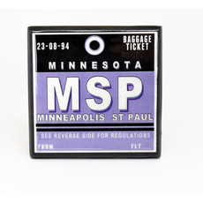 MSP Vintage Coaster