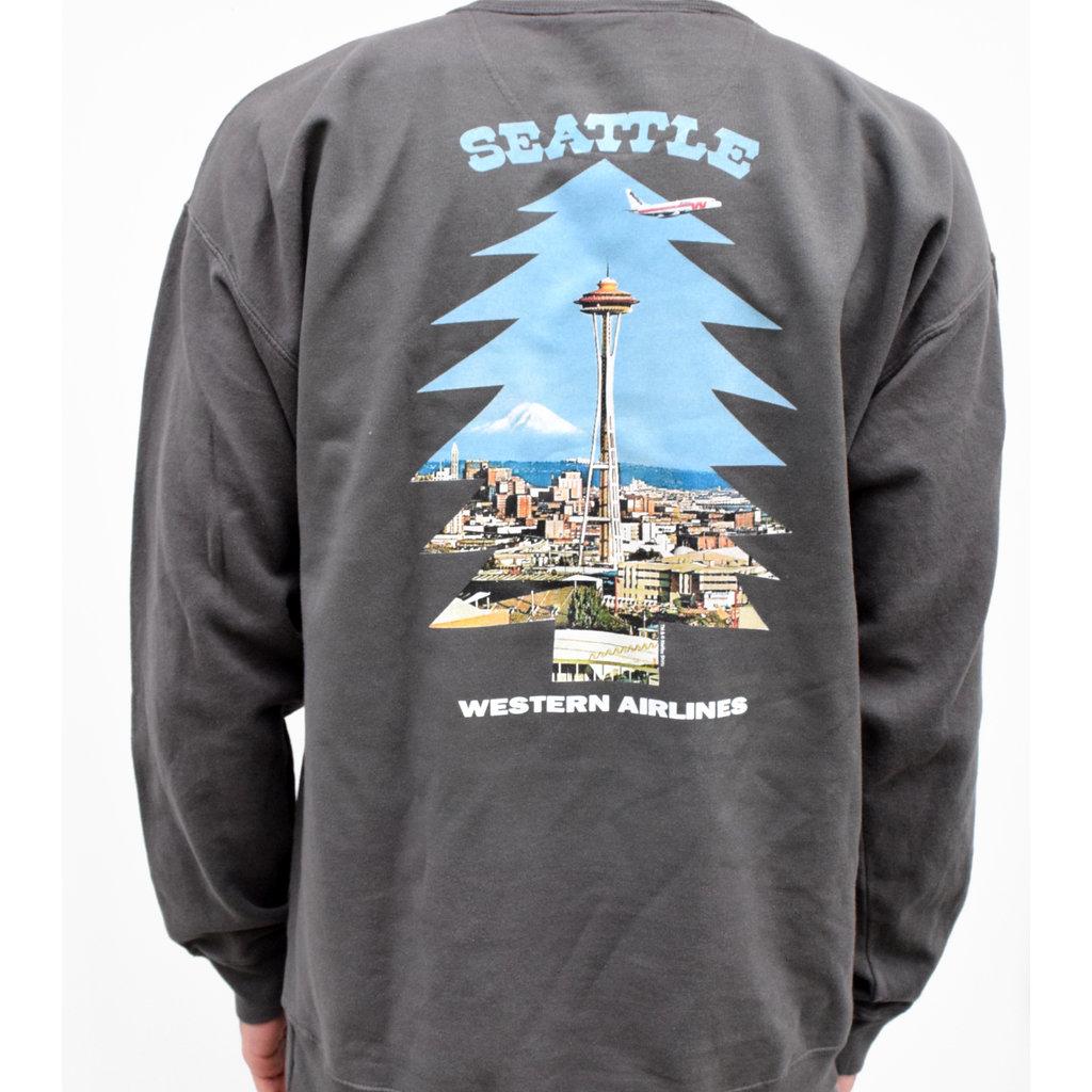 Seattle Western Needle Tree  Pullover Unisex