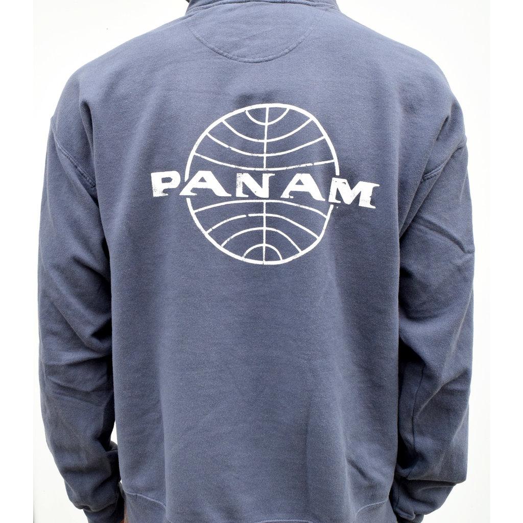 Pan Am Globe  Pullover Hoodie Unisex