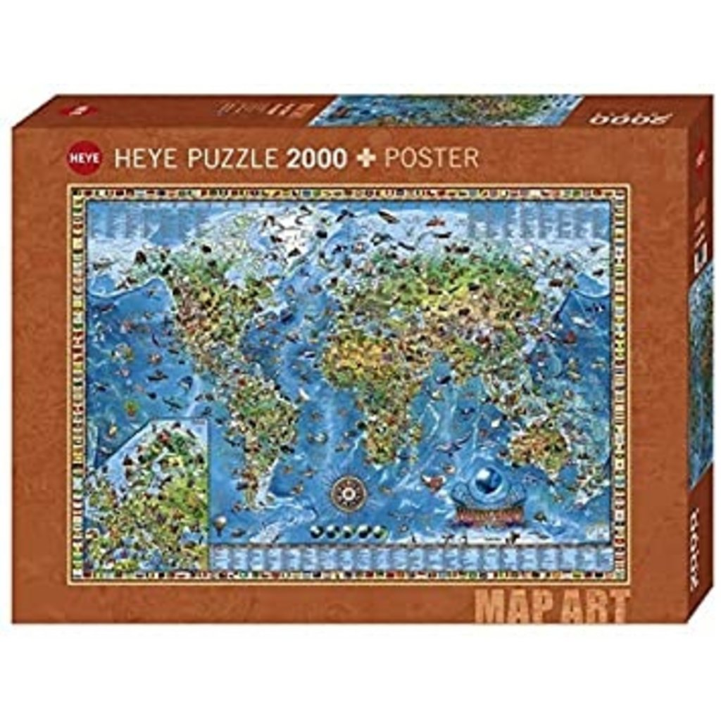 Amazing World Puzzle 2000 pcs