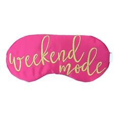 Weekend Mode Eye Mask