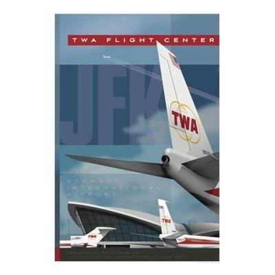 JAA TWA Flight Center at JFK Tribute Poster 14 X 20