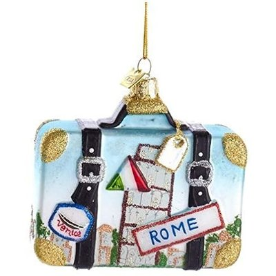 International Suitcase Ornaments