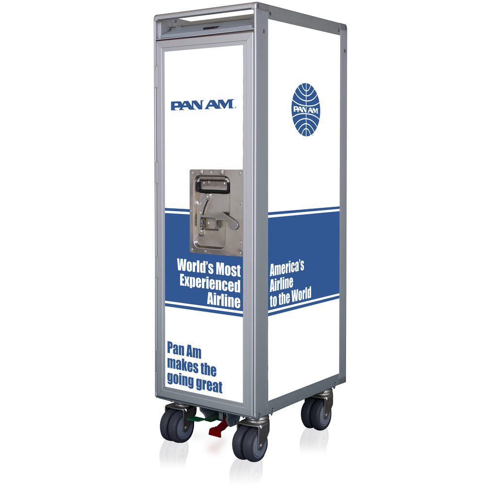 Pan Am Galley SkyCart with No Accessories