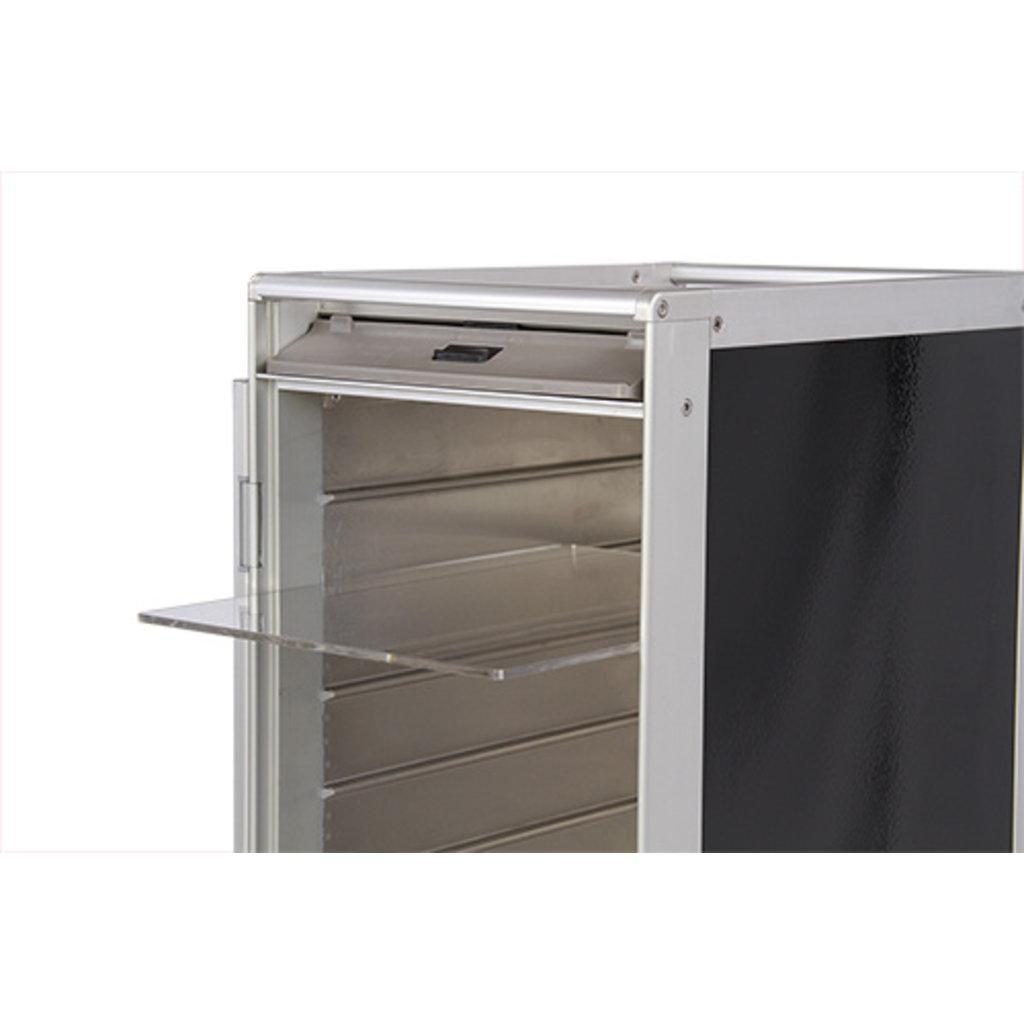 Galley Skycart Acrylic Shelf