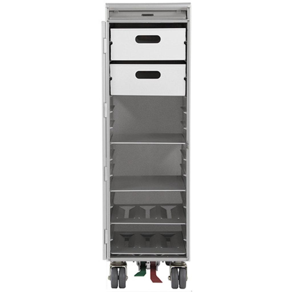 Galley Skycart  Aluminum Drawer