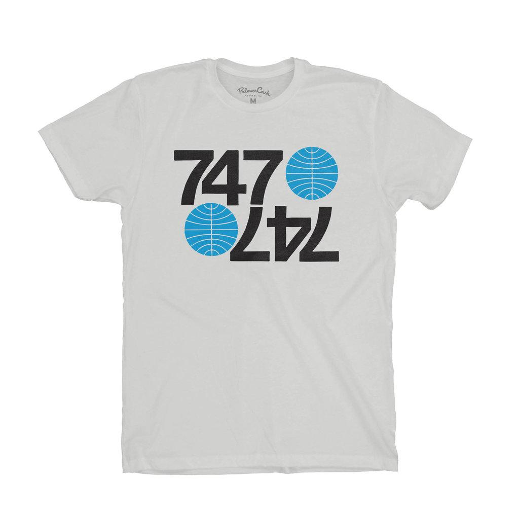 Pan Am Mens Tee 747