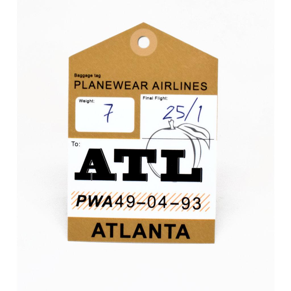 Baggage Tag Die-Cut Sticker-ATL