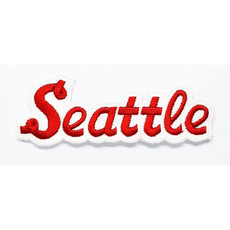 Seattle Red and White Patch