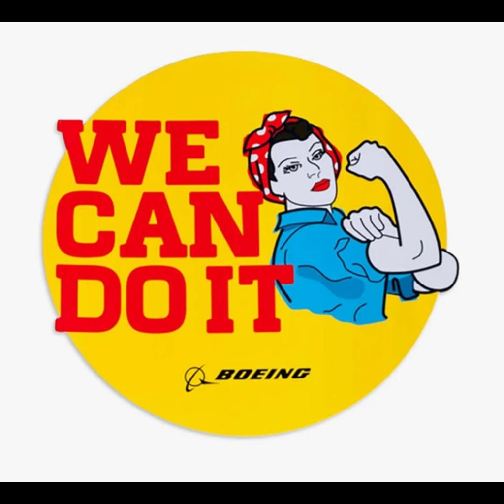 Boeing Rosie Sticker