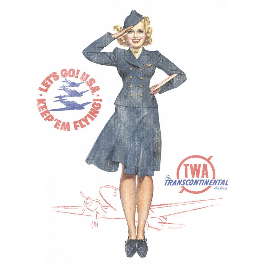 TWA Pin Up Womens Tee
