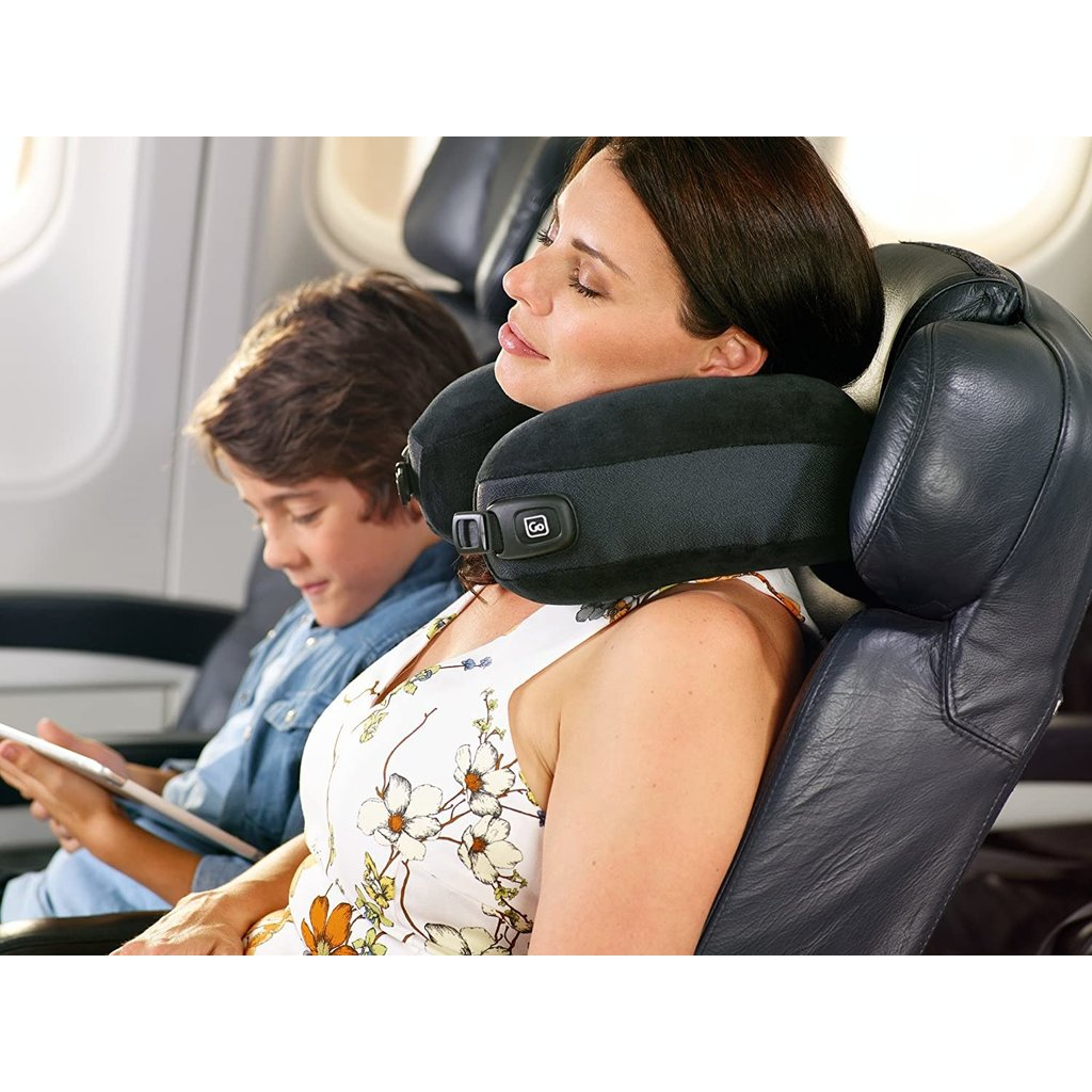 Jet Comfort Ultra Soft 2-1 Black Convertible Pillow