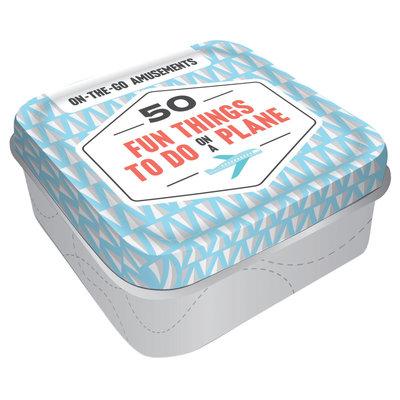 50 Fun Things to Do on a Plane  Mini Tin