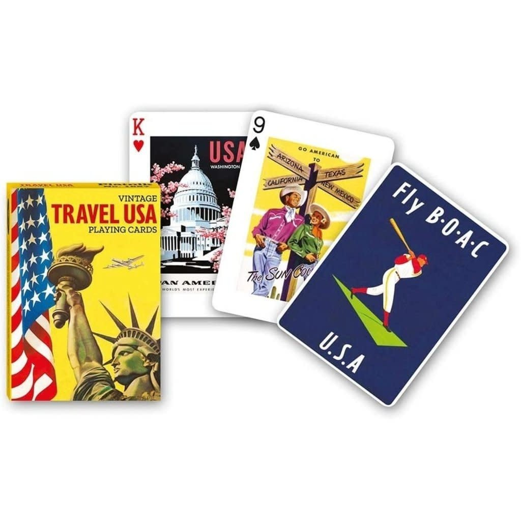 Travel USA Playing Cards