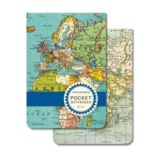 Vintage Maps 2 Pocket Notebooks