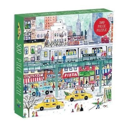 New York  Subway Puzzle By Michael Storrings