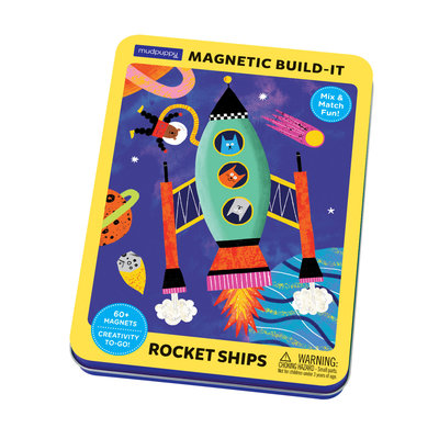 Magnet Tin Build Rocket Ships