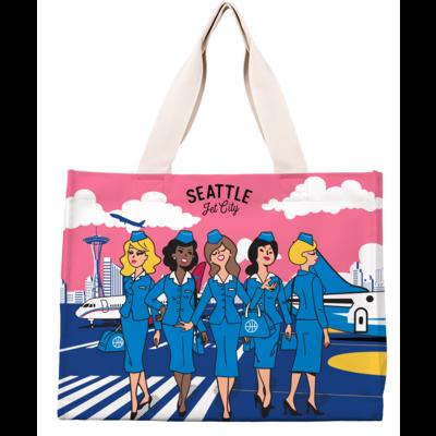 Seattle Stewardess flight Bag