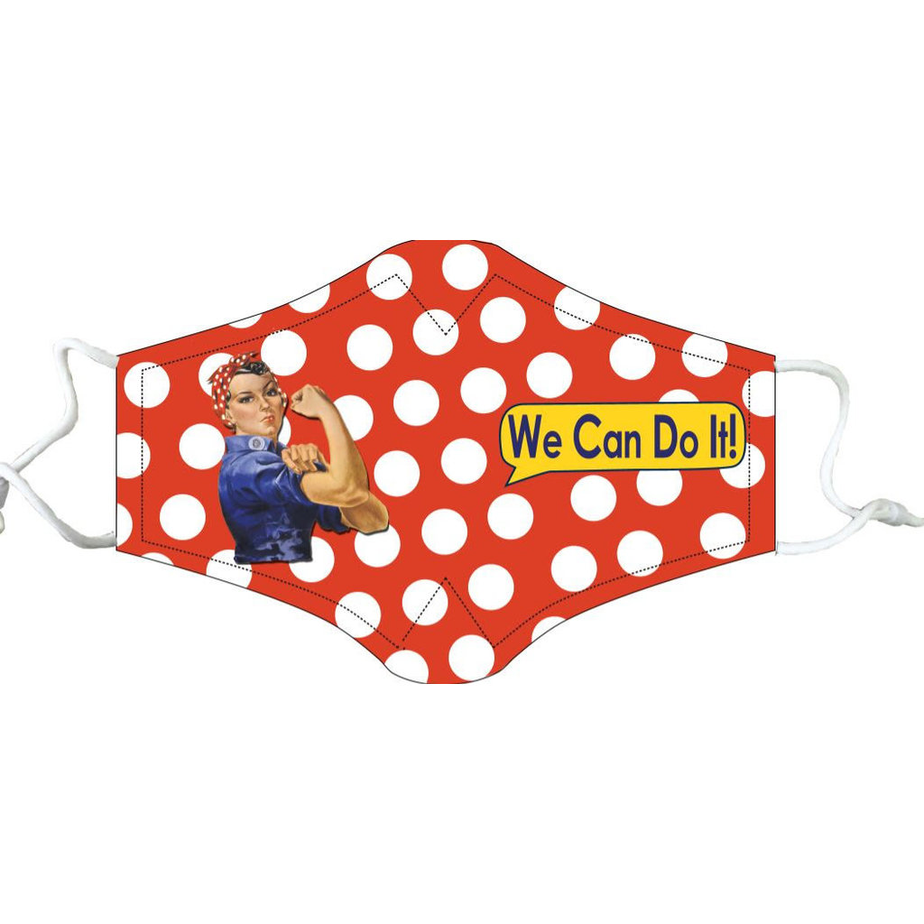 Rosie the Riveter Face Mask