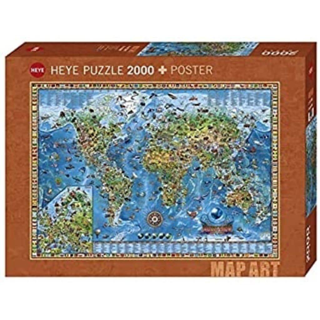 Amazing World Puzzle 2000 pcs