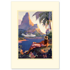Fly to South Seas Greeting Card