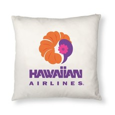 Hawaiian Airlines Heritage Logo Pillow Cover