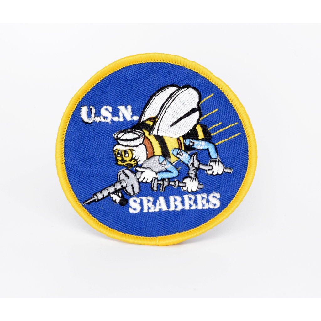 EE USN Seabees Patch