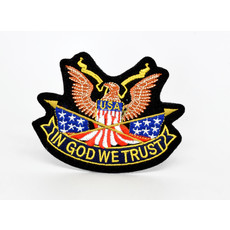 EE USA Eagle In God we Trust Patch