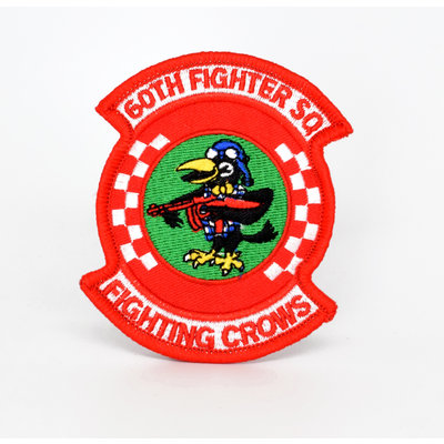 EE USAF 60th TFS Fighting Crows Patch