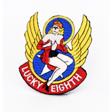 EE Nose Art Lucky Eighth Patch